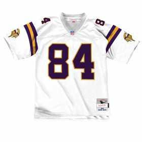 GJYCP18092-MVIWHIT98RMO_Maillot NFL Randy Moss Minnesota Vikings 1998 Mitchell & Ness Legacy Retro Blanc pour Homme