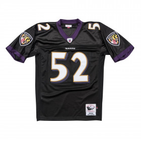 Men's Mitchell & Ness Legacy Jersey NFL Ray Lewis Baltimore Ravens 2004 Black
