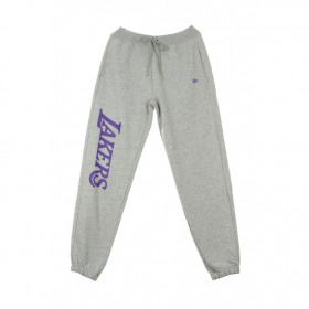 11904438_Pantalon NBA Los Angeles Lakers New Era Wordmark Jogger Gris pour Homme