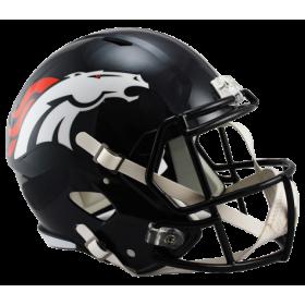 Casque de Football Americain NFL Denver Broncos Riddell Replica Noir