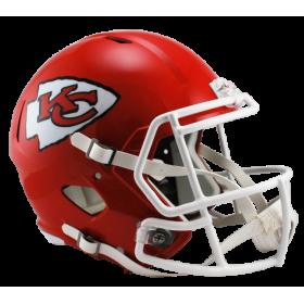 Casque de Football Americain NFL Kensas City Chiefs Riddell Replica Rouge