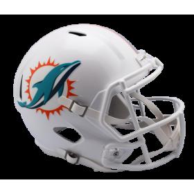 Casque de Football Americain NFL Miami Dolphins Riddell Replica Blanc