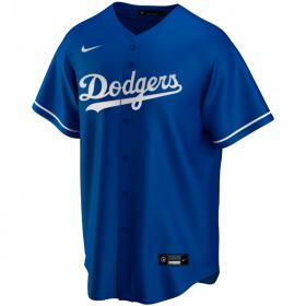 EZ3T1ZWAB-LAD_Maillot de Baseball MLB Los Angeles Dodgers Nike Replica Home Bleu pour Enfant