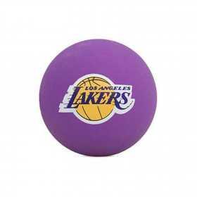 Mini Pelota NBA spalding Los Angeles Lakers Purpura