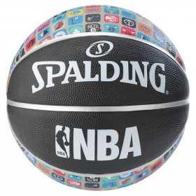 83-649Z_Ballon de Basketball exterieur Spalding NBA Team Logo