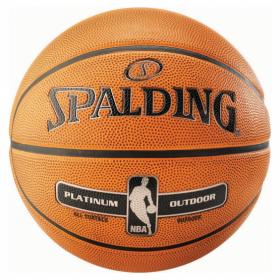 Pelota de baloncesto Exterior Spalding Platinium NBA naranja