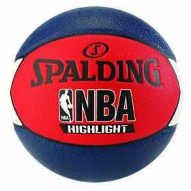83-573Z_Ballon de Basketball exterieur Spalding NBA Highlight Multicolor