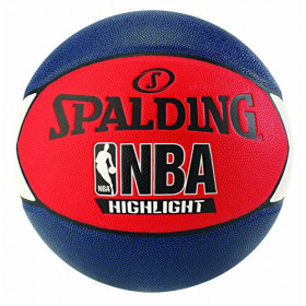 Pelota de baloncesto Spalding NBA Highlight Multicolor