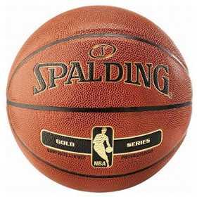 Pelota de baloncesto Interior Spalding Gold Series NBA naranja