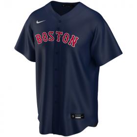 EZ3T1ZWAB-BOS_Maillot de Baseball MLB Boston Red Sox Nike Replica Home Bleu marine pour Enfant