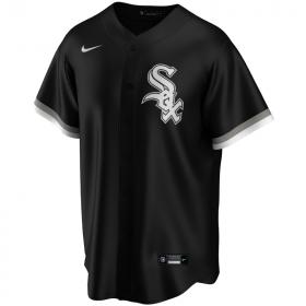 EZ3T1ZWDB-WSX_Maillot de Baseball MLB Boston Chicago White Sox Nike Replica Home Noir pour Enfant