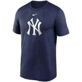EZ3B7SAG5-NYY_T-shirt MLB New York Yankees Nike Team Logo Legend Bleu marine pour junior