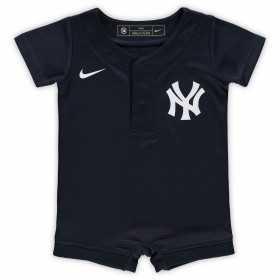 EZ3N1ZW3B-NYY_Maillot de Baseball MLB New-York Yankees Nike Replica Home Bleu marine pour Nouveau née