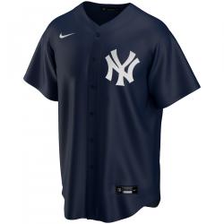 T770-NKDK_Maillot de Baseball MLB New-York Yankees Nike Replica Alternate Bleu marine pour Homme