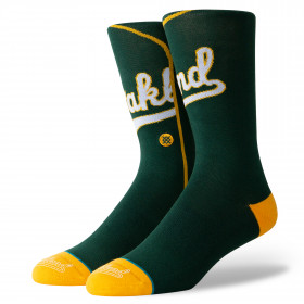 Chaussettes MLB Oakland Athletics Stance ALT Jersey Vert