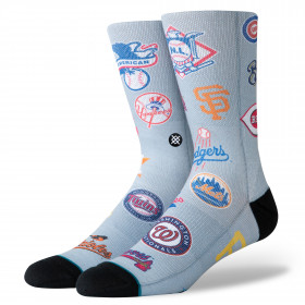 M558A19OPE_Chaussettes MLB Stance Opening Day gris