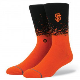 M558C17DGI_Chaussettes MLB San Francisco Giants Stance Fade orange