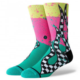 M558C19FLB_Chaussettes Surfskate Flame Stance Rose