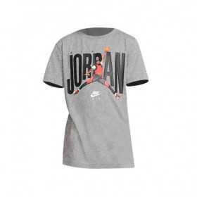 957290-GEH_T-shirt Jordan MJ SS crew Gris Pour Enfant