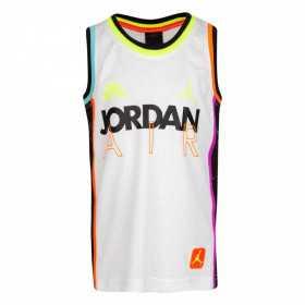 Camiseta Jordan School of Flight blanco para niño