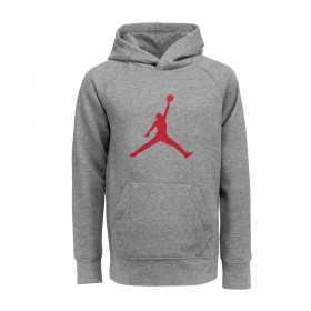 956326-GEH_Sweat à capuche Jordan Jumpman Logo Fleece Gris pour Junior