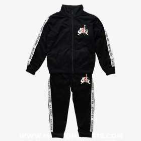 857146-023_Veste et pantalon Jordan Jumpman Classic Noir pour Junior