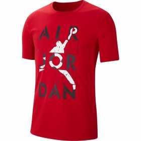 CJ6308-687_T-shirt Jordan Jumpman rouge pour Homme