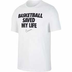 "CD1103-100_T-Shirt Nike Dri-fit ""My life"" Blanc pour Homme"