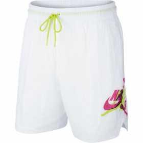 Short de bano Jordan Jumpman Poolside Blanco para hombre