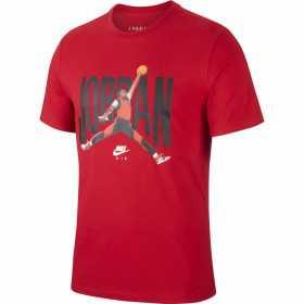 CJ6304-687_T-shirt Jordan rouge pour Homme