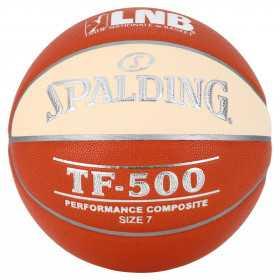 Ballon de Basketball Interieur Spalding LNB TF-500