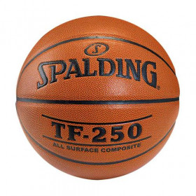 74-531Z_Ballon de Basketball Interieur / Exterieur Spalding LNB TF-250