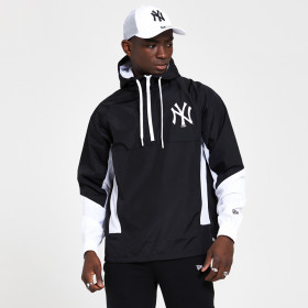12369837_Coupe vent MLB New York Yankees New Era Print Infill Noir pour Homme