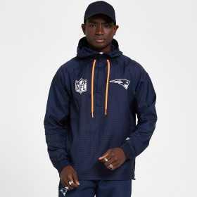 12380482_coupe vent NFL New England Patriots New Era Bleu pour Homme