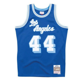 Maillot NBA Jerry West Los Angeles Lakers 1960-61 Hardwood Classics Mitchell & ness Bleu
