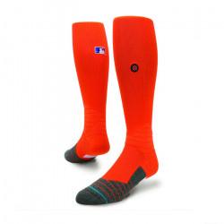 Stance MLB Diamonds Pro OTC Sock Orange