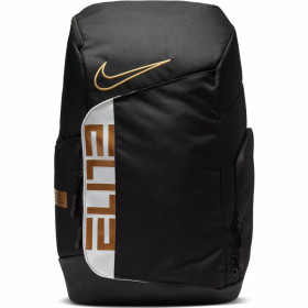 Mochila Nike Elite pro negro Gold