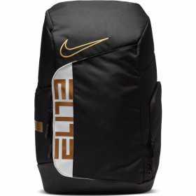 Nike Elite Pro Back Pack black Gold
