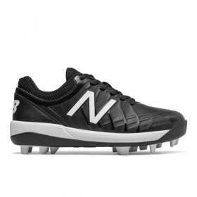 Crampons de Baseball moulés New balance J4040 V5 low Noir pour Junior