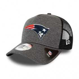 Casquette NFL New England Patriots New Era Shadow Tech Trucker Gris