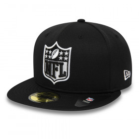 Casquette NFL Oakland Raiders New Era 59Fifty Noir