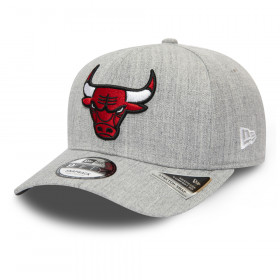 12285451_Casquette NBA Chicago Bulls New Era Heather Base 9Fifty Gris