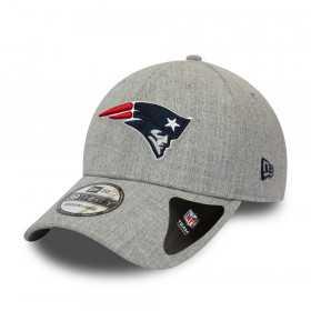 12285455_Casquette NFL New England Patriots New Era Heather 39thirty Gris
