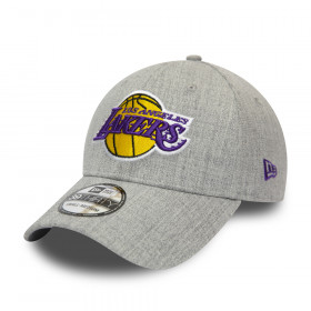 12285456_Casquette NBA Los Angeles Lakers New Era Heather 39thirty Gris