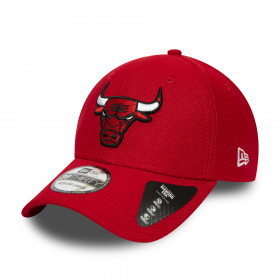 12285526_Casquette NBA Chicago Bulls New Era Diamond Era Essential 39Thirty Rouge