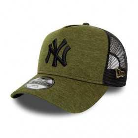 Kid's New Era Shadow Tech Trucker hat MLB New York Yankees green