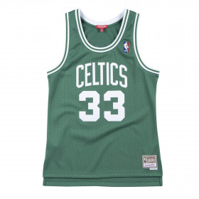 Maillot NBA Larry Bird Boston Celtics Hardwood Classics Mitchell & ness Vert pour femme