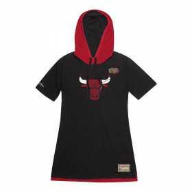 Robe NBA Chicago Bulls Mitchell & ness Noir pour femme