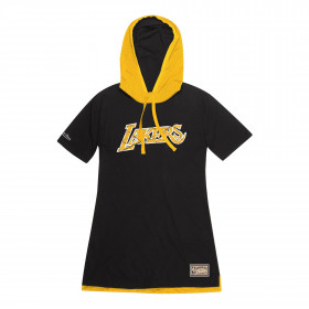 Robe NBA Los Angeles Lakers Mitchell & ness Noir pour femme