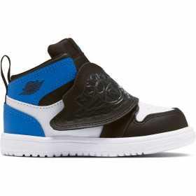 Boys' Air Jordan 1 Mid SKY TD Blue wht